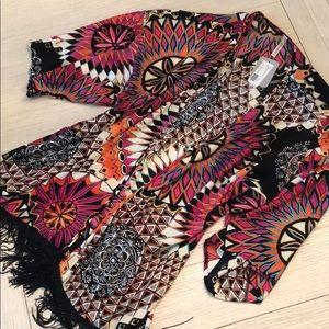 NWT Kimono/Cardigan M/L